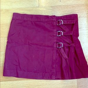 Juicy couture jeans miniskirt